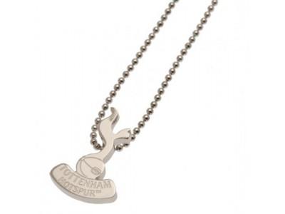 Tottenham Hotspur kæde med emblem - Stainless Steel Pendant & Chain