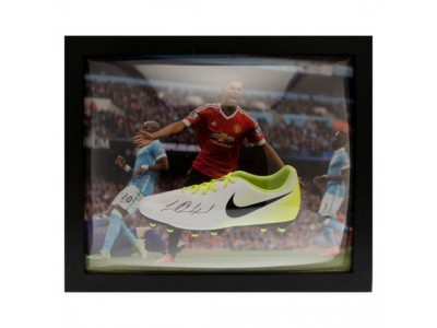 Manchester United FC Rashford Signed Boot (Framed)