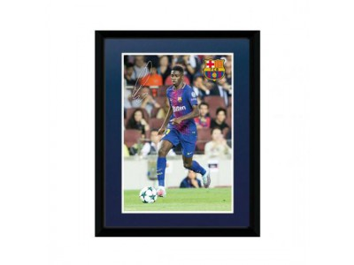 FC Barcelona billede - Picture Dembele 8 x 6 inches