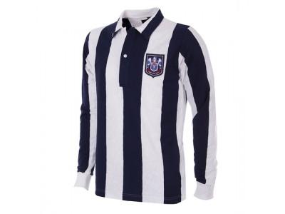 West Bromwich Albion 1953-54 retro trøje Lange Ærmer