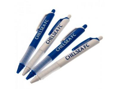 Chelsea kuglepens sæt - 4 Pack Pen Set