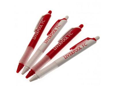 Liverpool kuglepen - 4 Pack Pen Set