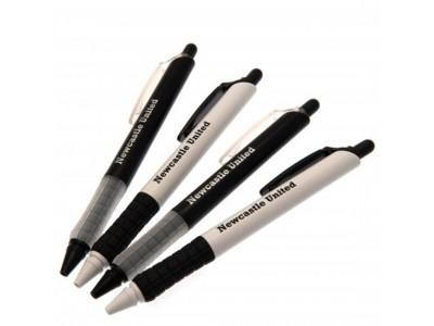 Newcastle United kuglepen - NUFC 4 Pack Pen Set
