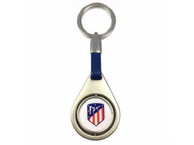 Atletico Madrid nøglering - ATM FC Spinner Keyring BL