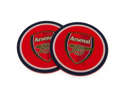 Arsenal bordskåner - 2 Pack Coaster Set