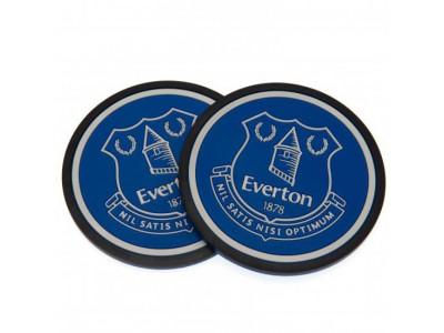 Everton bordskåner - EFC 2 pack Coaster Set