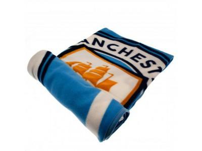 Manchester City tæppe - Fleece Blanket PL
