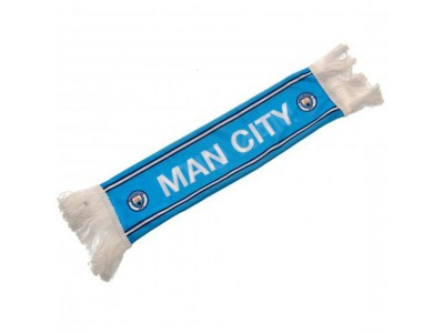Manchester City mini halstørklæde - Mini Car Scarf