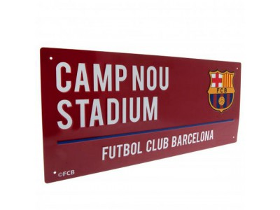 FC Barcelona gadeskilt - Street Sign CL