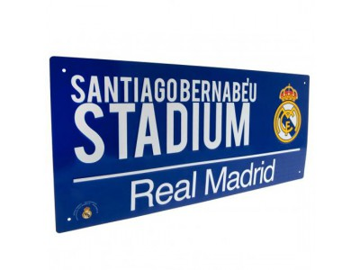 Real Madrid gadeskilt - Street Sign BL