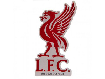 Liverpool klistermærke - LFC Large Crest Sticker
