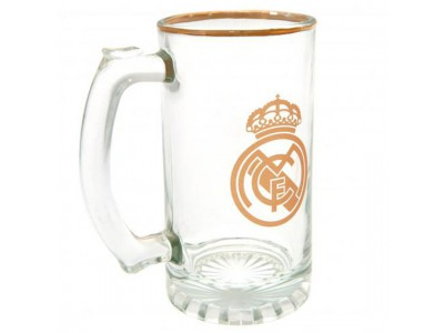 Real Madrid ølkrus - Stein Glass Tankard