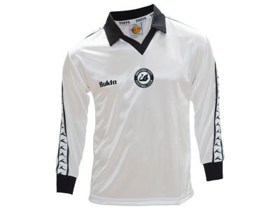 Swansea hjemme retro trøje Lange Ærmer - bukta