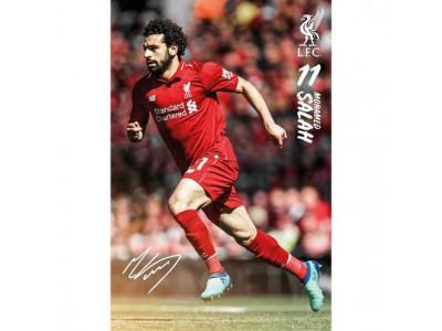 Liverpool plakat - Poster Salah