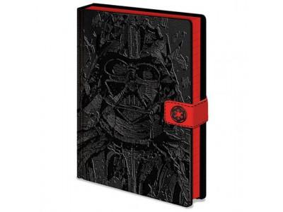 Star Wars notesblok - Premium Notebook Darth Vader