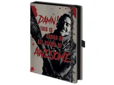 The Walking Dead notesblok - Premium Notebook Negan