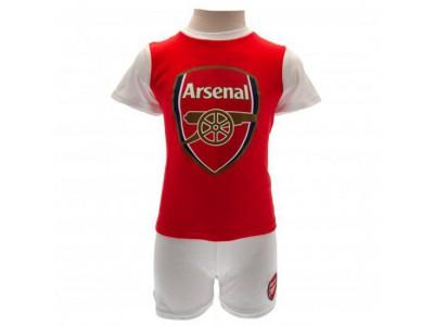 Arsenal - T Shirt & Short Set 12/18 Months - baby