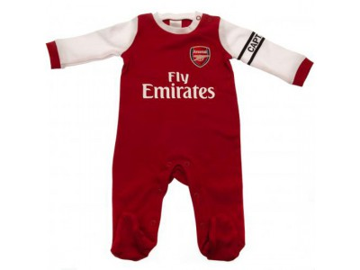 Arsenal sovedragt - Sleepsuit 9/12 Months Wt - baby