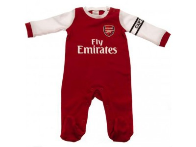 Arsenal sovedragt - Sleepsuit 6/9 Months Wt - baby