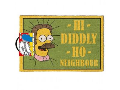 The Simpsons dørmåtte - Doormat Flanders