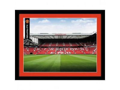 Manchester United billede - MU Picture Stretford End 16 x 12 inches