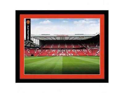 Manchester United billede - MU Picture Stretford End 16 x 12 inches