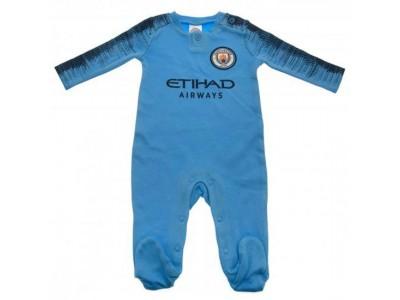 Manchester City sovesæt - Sleepsuit 12/18 Months NV