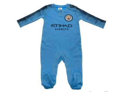 Manchester City sovesæt - Sleepsuit 9/12 Months NV