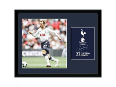 Tottenham billede - Picture Eriksen 16 x 12 inches