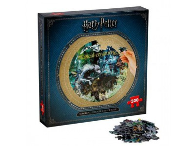 Harry Potter puslespil - Magical Creatures Puzzle 500pc