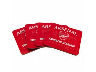 Arsenal bordskåner - 4 Pack Coaster Set