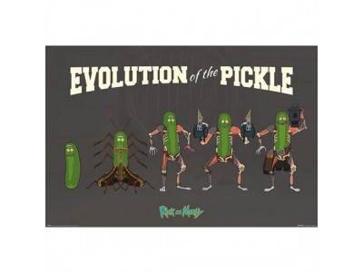 Rick And Morty plakat - Poster Pickle Rick 170