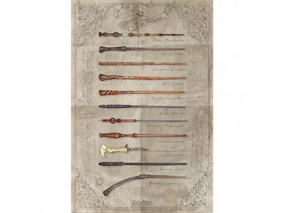 Harry Potter plakat - Poster Wands 161