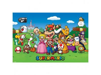 Super Mario plakat - Poster Characters 164