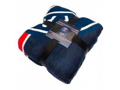 Paris Saint Germain tæppe - PSG Sherpa Fleece Blanket