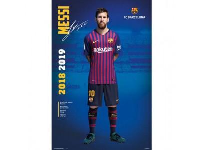 FC Barcelona plakat - Poster Messi 24