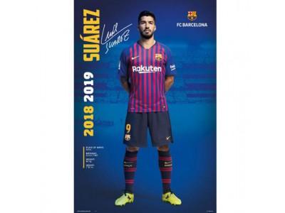 FC Barcelona plakat - Poster Suarez 30