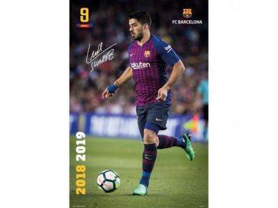 FC Barcelona plakat - Poster Suarez 28