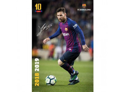 FC Barcelona plakat - Messi 25