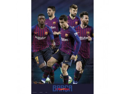 FC Barcelona plakat - Poster Players 41