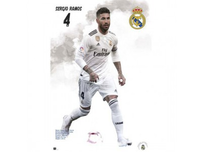 Real Madrid plakat - RM Poster Ramos 42