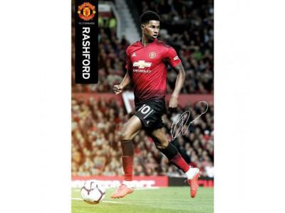 Manchester United plakat - Poster Rashford 46