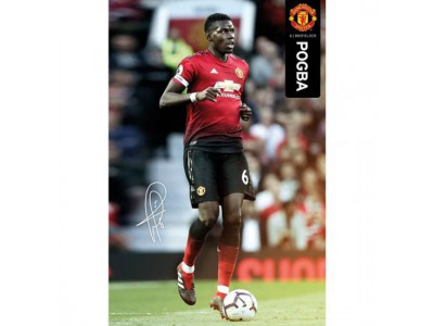 Manchester United plakat - Poster Pogba 49
