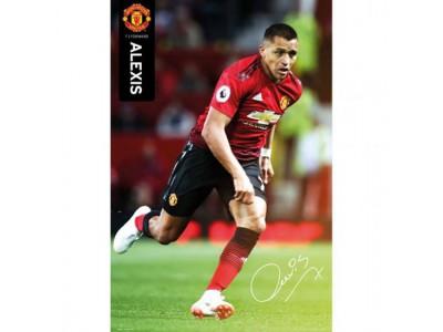 Manchester United plakat - Poster Alexis Sanchez 55