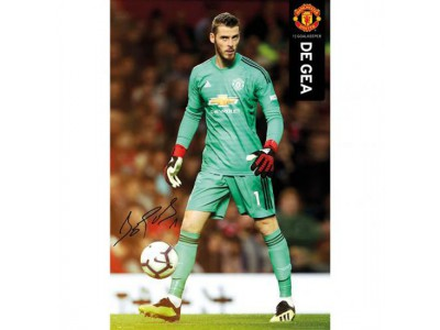 Manchester United plakat - Poster De Gea 38