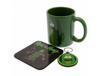 Rick And Morty krus - Mug & Coaster Set