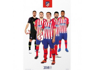 Atletico Madrid plakat - Poster Players 65