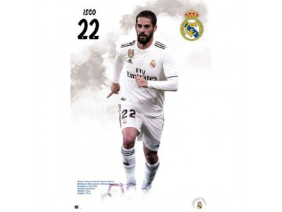 Real Madrid plakat - RM Poster Isco 59