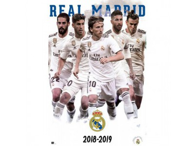 Real Madrid hold foto - RM Poster Players 61