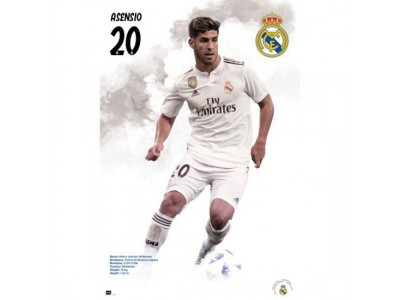 Real Madrid plakat - RM Poster Asensio 57